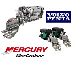 IN-OUTBOARD ENGINES AND SPARES