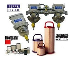 PREFILTERS, SEPARATOR FILTERS AND ENGINE FILTERS