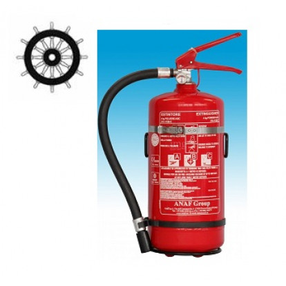 Dry Powder Fire Extinguisher 2 Kg - SOLAS