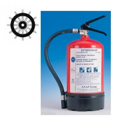 Dry Powder Fire Extinguisher 6 Kg - SOLAS