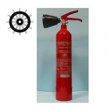 CO2 Fire Extinguisher 2 Kg - SOLAS