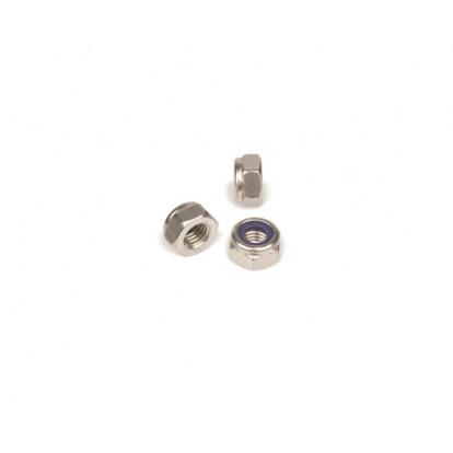 Hexagon Nut Self-Locking M8 - DIN1587 A2