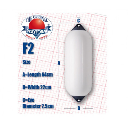 Cylindrical Fender F2