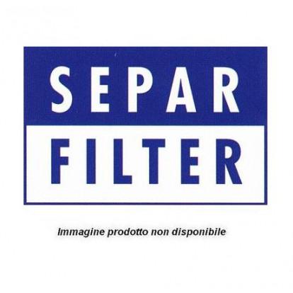 Pre-Filtro Separatore Doppio SWK-2000/5/50/UD  -  Boccetta Trasparente, Deflettore