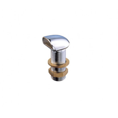 """Chromium-plated Brass Vent with Stainless Steel Flame Protection Net 1/2"""""""