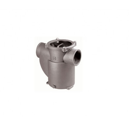 "Water Strainer Aluminium series Mediterraneo 3/4"" - Polycarbonate Cover"
