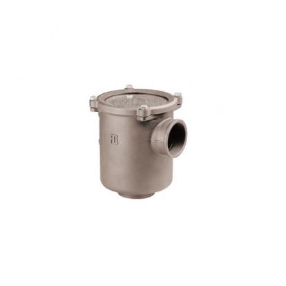 """Water Strainer Aluminium series Ionio 1"""" 1/2 - Polycarbonate Cover"""