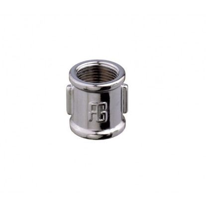 Equal Socket Chromium-plated Brass Female 3/4""