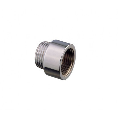 "Extension MF Chromium-plated Brass 3/8"" - H 25 mm"