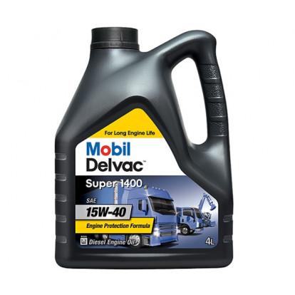 Engine Oil Mobil Delvac Super 1400E 15W-40 - 4 Ltr