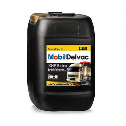 Engine Oil Mobil Delvac XHP Extra 10W-40 - 20 Ltr
