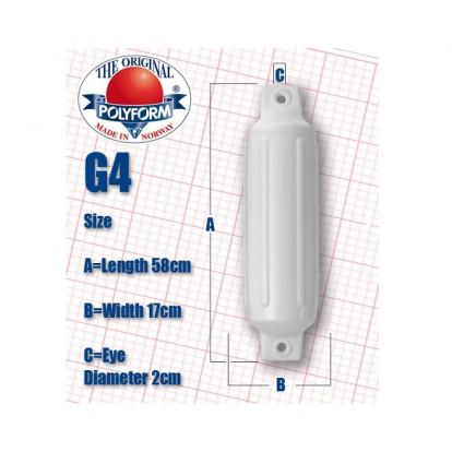 Cylindrical Fender G4