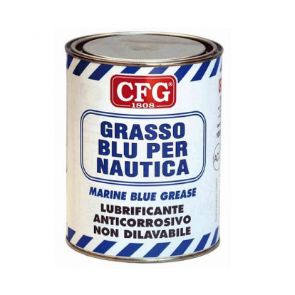 Marine Blue Grease - Can 1000 ml