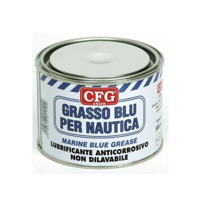 Marine Blue Grease - Can 500 ml