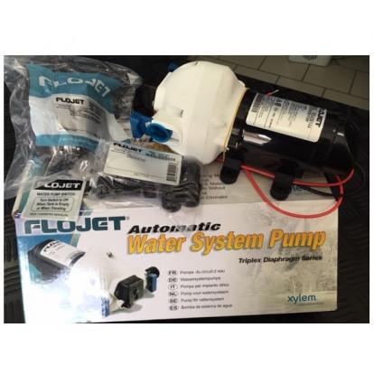 Automatic Water System Pump Flojet Triplex Diaphragm 12V - 11 Ltr/min