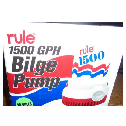 Submersible Bilge Pump - Rule 1500 Mod. 03 - 24 Volt