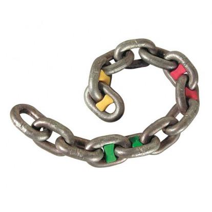 Chain Marker Green 12 mm - 6 pcs