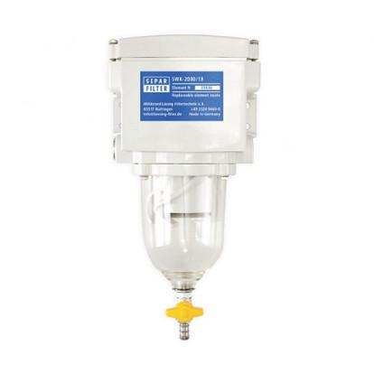 Pre-Filtro Separatore SWK-2000/18  -  Boccetta Trasparente