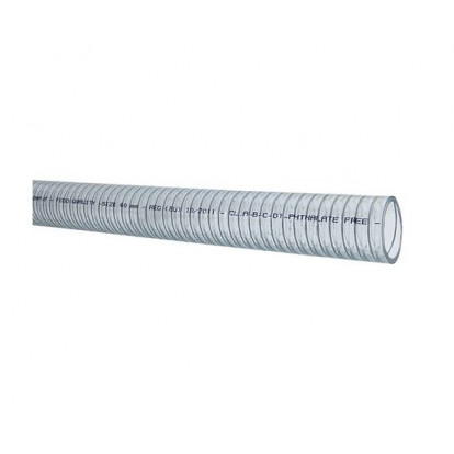 Clear Hose Wire Reinforced Ø38 mm