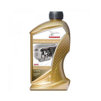 Olio Motore Yanmar Premium Synthetic Oil SAE 0W40 - 1 Ltr