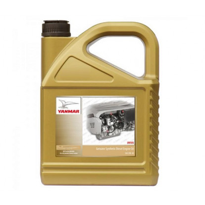 Olio Motore Yanmar Premium Synthetic Oil SAE 0W40 - 5 Ltr