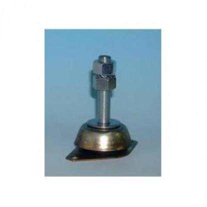 Supporto Elastico Circolare 200 Kg - Perno M14 - Altezza 105 mm