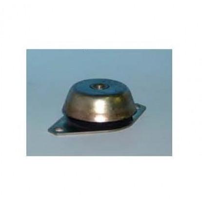 Supporto Elastico Circolare Inox 600 Kg - Foro M18 - Altezza 48 mm
