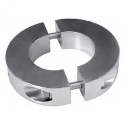 Anodo a Collare in Alluminio AV022AL - Asse Ø 95 mm