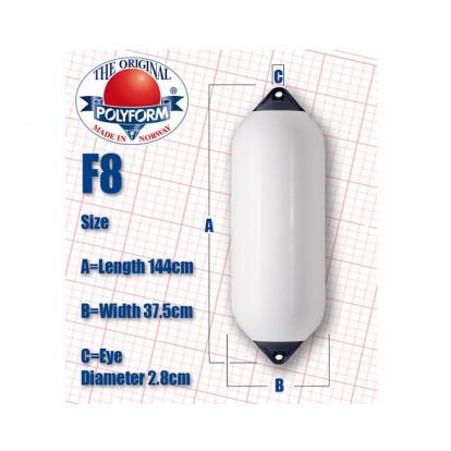 Parabordo Cilindrico F8