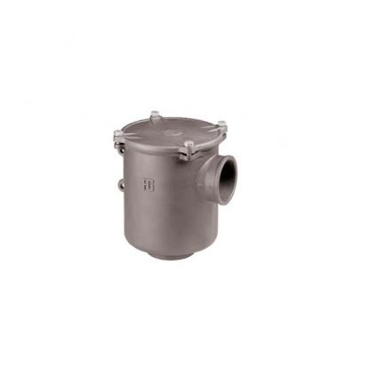 """Filtro Depurazione Acqua Alluminio serie Ionio 4"""" - Coperchio Metallico"""