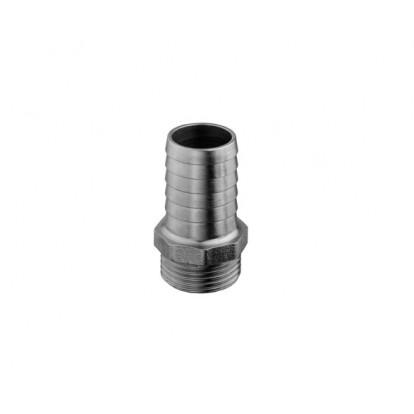 "Portagomma Maschio Alluminio serie EXTRA 1"" 1/4 - Portagomma 38 mm"