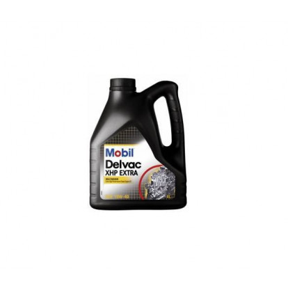 Olio Motore Mobil Delvac XHP Extra 10W-40 - 4 Ltr
